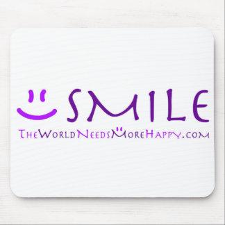 Sorriso-roxo Mouse Pad