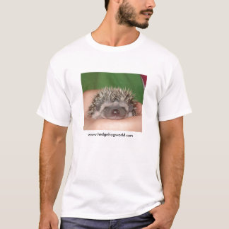 Sorriso! tshirt do ouriço do bebê camiseta