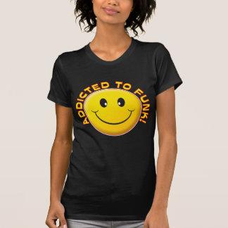 Sorriso viciado do funk tshirt