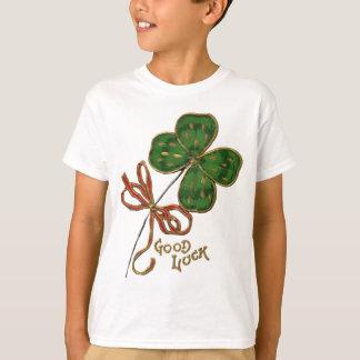 Sorte da camisa do miúdo irlandês