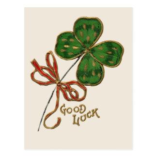 Sorte O o cartão do dia do St Patrick irlandês