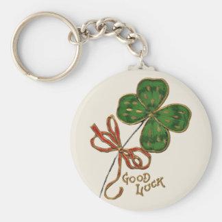 Sorte O o chaveiro do dia do St Patrick irlandês