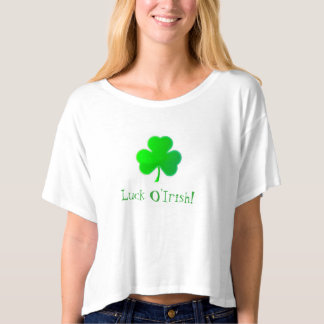 Sorte O'Irish Camiseta