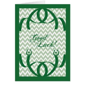 Sorte religiosa do cartão do dia de St Patrick boa
