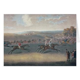 Sorteio de Derby, 1791/2 Cartão Comemorativo