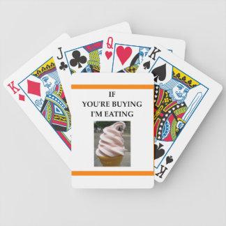 sorvete jogo de baralho