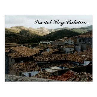 SOS del Rey Católico Cartoes Postais