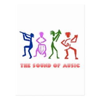 SOUND OF MUSIC sOM DA mÚSICA Cartão Postal