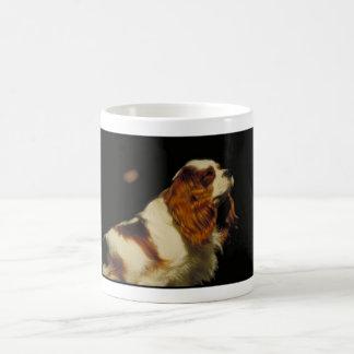 Spaniel de rei Charles descuidado Caneca De Café