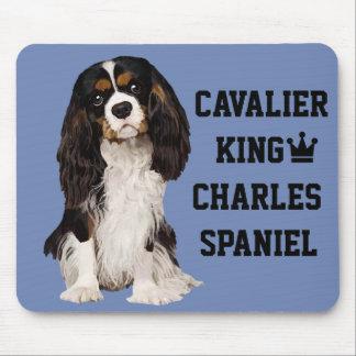 Spaniel de rei Charles descuidado Mousepad