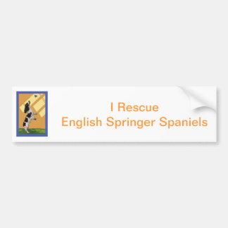 Spaniel de Springer inglês Adesivo Para Carro