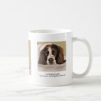 Spaniel de springer inglês caneca de café