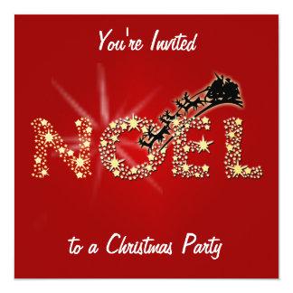 Sparkling Noel Convite