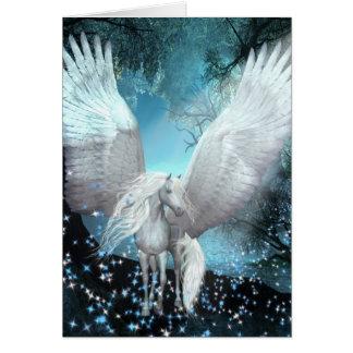 Sparkling Pegasus Cartão De Nota