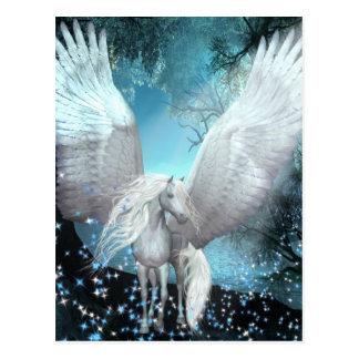 Sparkling Pegasus Cartão Postal