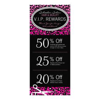 Specials cor-de-rosa dos vales do salão de beleza  planfetos informativos coloridos