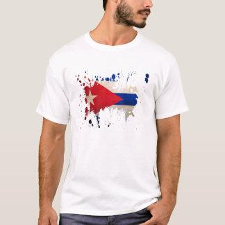 splatter Cuba Camiseta