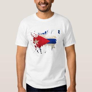splatter Cuba Tshirt