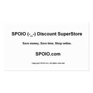 SPOIO.com - anúncio do bizcard Cartão De Visita