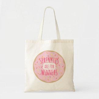 Sprinkles é para o bolsa engraçado da rosquinha
