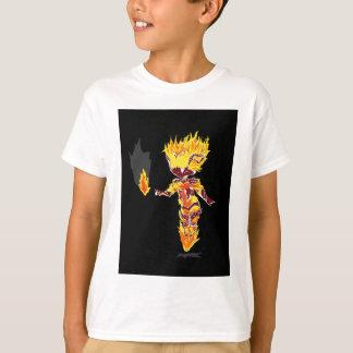 Sprite da chama camiseta