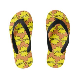 Sprog, bebê, criança, flip-flops britânicos chinelos infantis