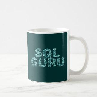SQL gurú Caneca De Café
