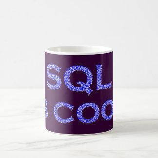 SQL is genial Caneca De Café
