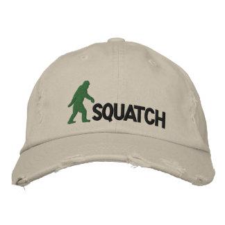 squatch com grande logotipo de bigfoot boné bordado