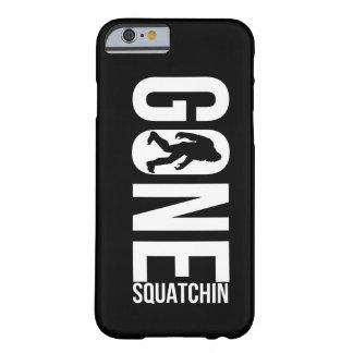 Squatchin ido engraçado capa barely there para iPhone 6
