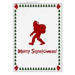 Squatchmas alegre! (Cartão de Natal)