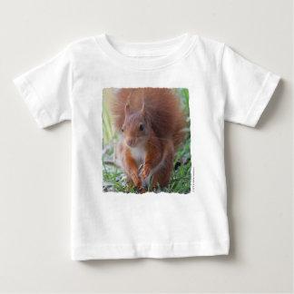 Squirrel for bebé - fotografia Louis Glineur Camiseta Para Bebê