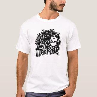 Sr. Agradar divertimento preto & branco de | Camiseta