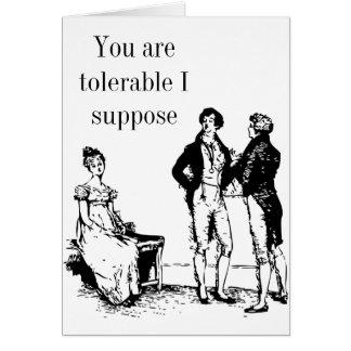 Sr. Darcy Namorados Cartão no2 - orgulho e