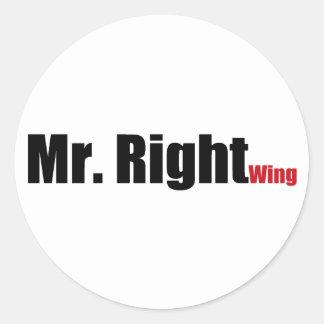 Sr. direita adesivo