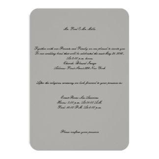 Sr. e Sr. Casamento Convite