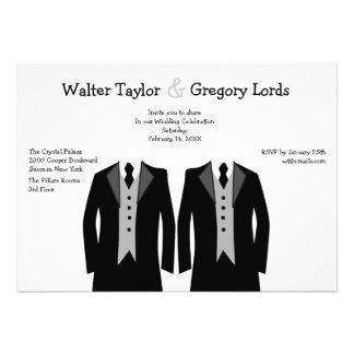 Sr e Sr Gay Casamento Convite