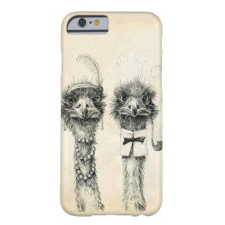 Sr. e Sra. Avestruz Capa Barely There Para iPhone 6