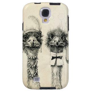 Sr. e Sra. Avestruz Capa Para Galaxy S4