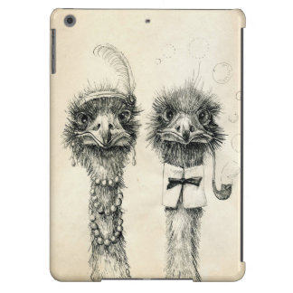 Sr. e Sra. Avestruz Capa Para iPad Air