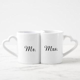 Sr. e Sra. Coração Connecting Caneca