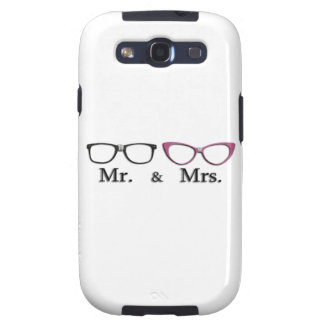 Sr. E Sra. Geek Capa Personalizadas Samsung Galaxy S3