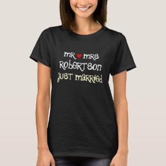Sr. e Sra. personalizados camisas do recem casados