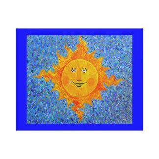 Sr Luz do sol da cópia das canvas Impressão De Canvas Envolvidas