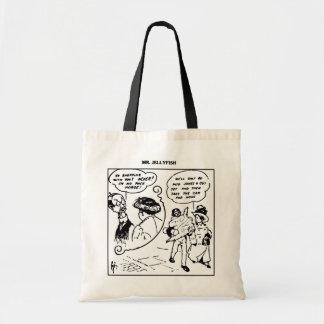 Sr. Medusa Ir Compra com sua sacola da esposa Sacola Tote Budget