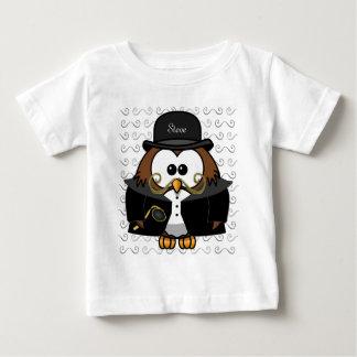 Sr. Ouro Bigode Coruja Camisetas
