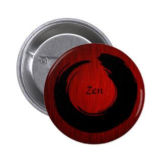 SR. preto do botão do zen Boton