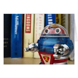 Sr. Robô Cartão De Nota