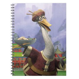 Sr. Sibilar do vintage Caderno Espiral