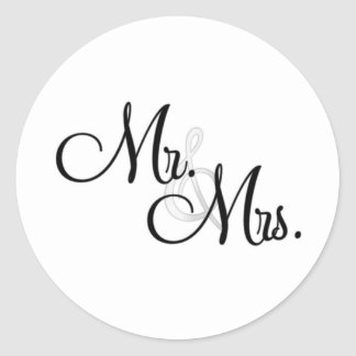 Sr. & Sra. Original Artigo Adesivo